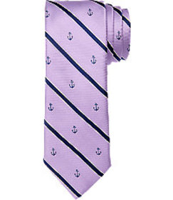 1905 Collection Stripe & Anchor Tie CLEARANCE