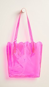 CAB Collection Transparent Shell Tote Bag