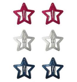Star Hair Clips Set