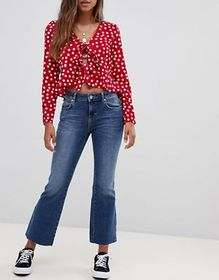 Free People Rita cropped flared jeans