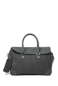 Vince Camuto Annori Snake Embossed Duffle Tote