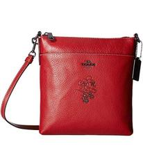 COACH Minnie Mouse Messenger Crossbody With Motif