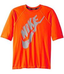 Nike Solid Half Sleeve Hydroguard (Big Kids)