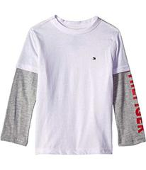 Tommy Hilfiger Long Sleeve Crew Neck Shirt (Toddle