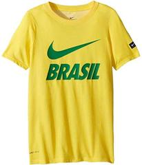 Nike Brasil Dry-FIT Slub Tee (Little Kids/Big Kids