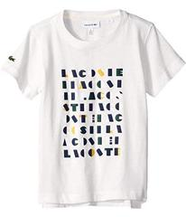 Lacoste Short Sleeve Lacoste Wording Print Tee Shi