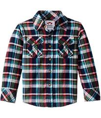 Appaman Kids Extra Soft Flannel Shirt with Elbow D