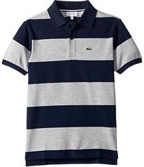 Lacoste Bicolor Striped Pique Polo (Infant/Toddler