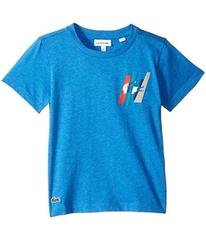 Lacoste Short Sleeve Multicolor Animation Tee Shir