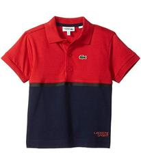 Lacoste Short Sleeve Color Block Lifestyle Polo (L