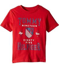 Tommy Hilfiger Tommy Crest Crew Neck Tee (Toddler/
