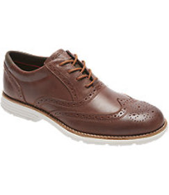 Rockport Total Motion Fusion Wingtip Oxfords CLEAR