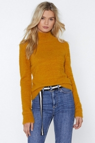Touch and Go Fluffy Sweater