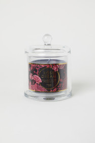Scented Candle in Glass Dome