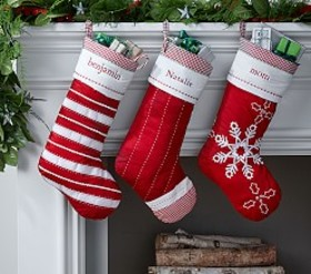 Classic Quilted Stocking Collection