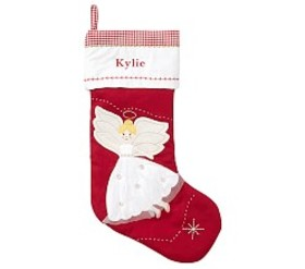 Angel Quilted Stocking