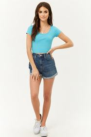 Twisted Cutout Crop Top