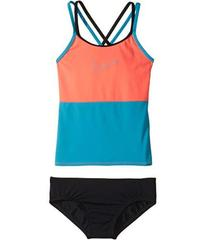 Nike Color Surge Spiderback Tankini Set (Big Kids)