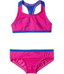 Nike Macro Swoosh Racerback Sport Top Brief Set (B