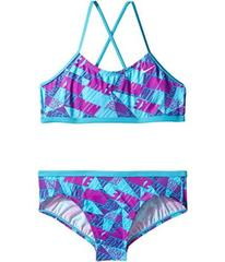 Nike Graphic Crossback Bikini (Big Kids)