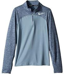 Nike Dry Element Long Sleeve 1/2 Zip Top (Little K