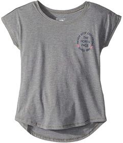 The North Face Tri-Blend Scoop Neck Tee (Little Ki
