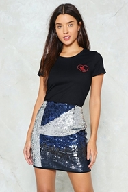 Take a Chance on Me Sequin Skirt