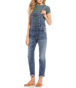 Silver Jeans Co. Clean Rolled Cuff Straight Hem Ov