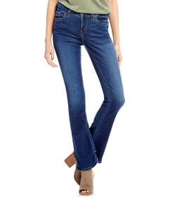 Silver Jeans Co. Aiko Clean Slim Bootcut Jeans