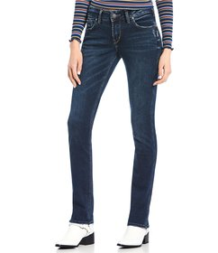 Silver Jeans Co. Elyse Straight Slim Jeans