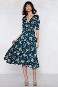 Grow With Me Floral Dress