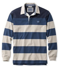 Lakewashed Rugby, Traditional Fit Long-Sleeve Engi
