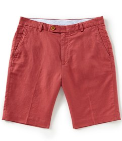 """Brooks Brothers Houndstooth Linen 10"""" Shorts"""