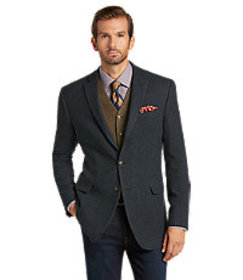 1905 Tailored Fit Check Sportcoat - Big & Tall CLE