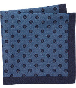 Jos. A. Bank Small Medallion Cotton Pocket Square