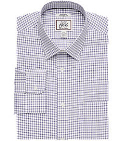 1905 Collection Tailored Fit Spread Collar Grid Dr