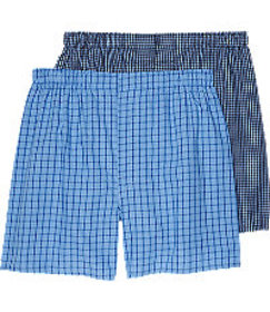 Jos. A. Bank Grid Woven Boxers, 2-Pack CLEARANCE