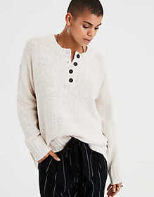 AE Henley Pullover Sweater