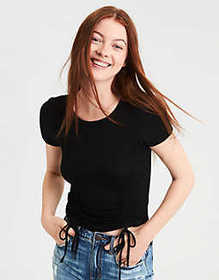 AE Soft & Sexy Double Cinch Front T-Shirt