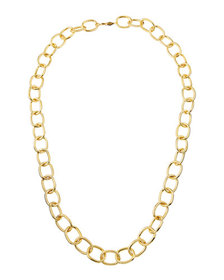 A.V. Max Handmade Gold-Plated Link Necklace 36