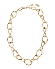 Kenneth Jay Lane Knotted-Link Necklace