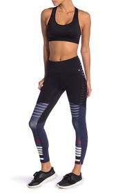 Champion Fashion Mesh & Stripe Leggings