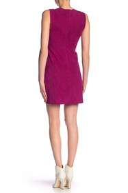 Theory Zinovin Double Face Suede Dress