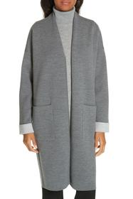 Theory Double Face Long Cardigan