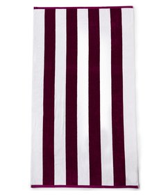 Noble Excellence Cabana Striped Beach Towel