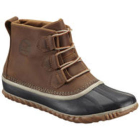SOREL Women's Out N About Leather Boots, Elk