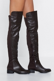 Scale It Back Over-the-Knee Boot