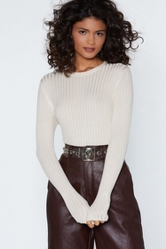 The Way Knit is Ribbed Sweater