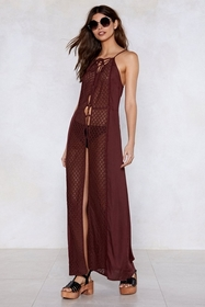 Pull Some Strings Lace Dress