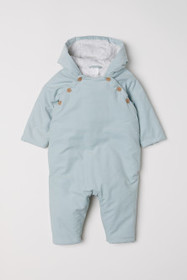 Padded Corduroy Overall